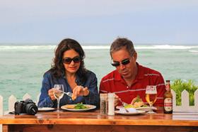 Lemon Grass Restaurant at Milkwood Manor on Sea Plettenberg Bay